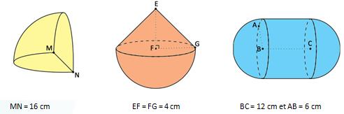 Seconde maths aires volumes ex1