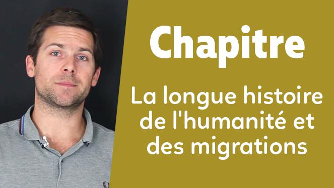 La longue histoire de l'humanité et des migrations