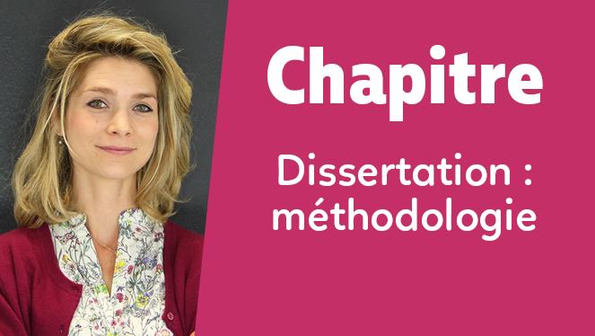 La dissertation : méthodologie