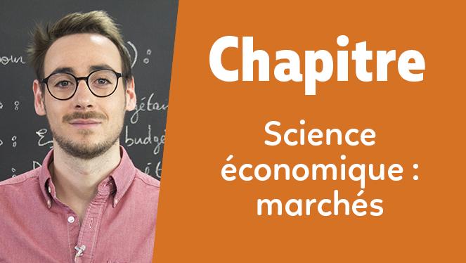Science économique : marchés
