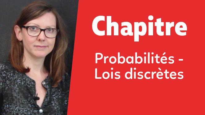 Probabilités - Lois discrètes