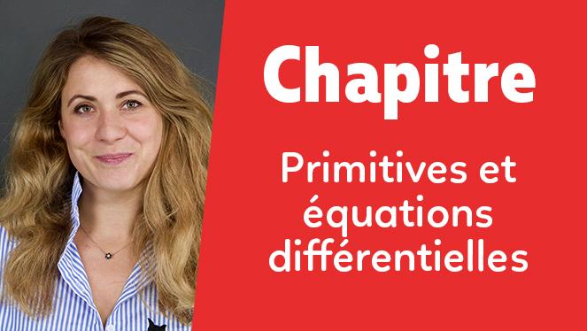 Primitives et équations différentielles