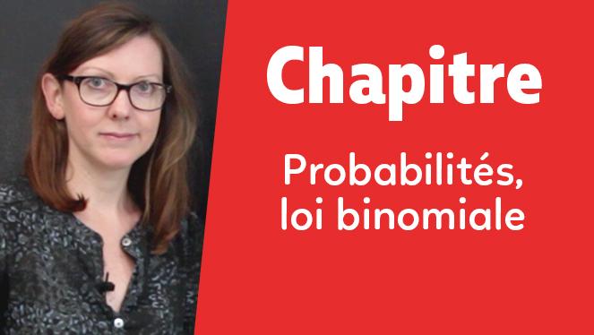 Probabilités, loi binomiale