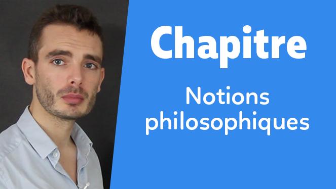 Notions philosophiques