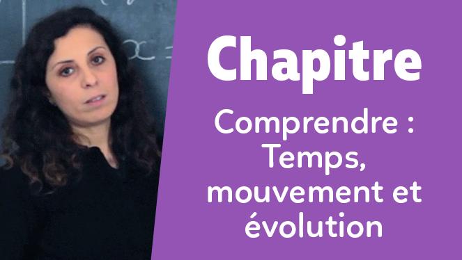 Comprendre : Temps, mouvement et évolution