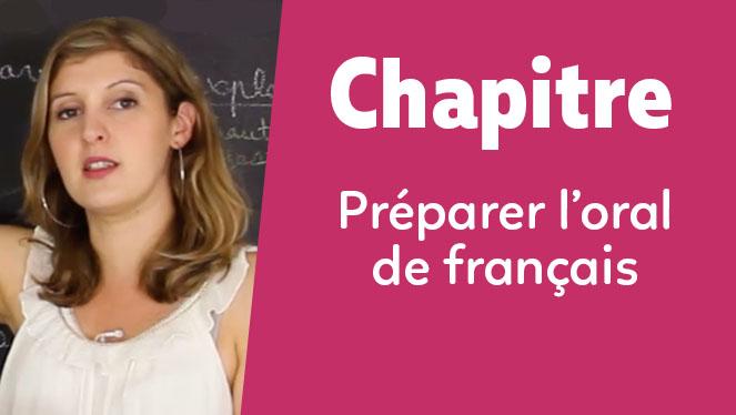 Préparer l'oral de français