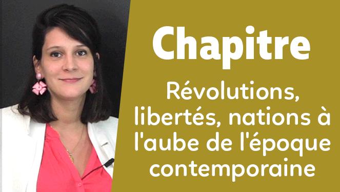 Révolutions, libertés, nations à l'aube de l'époque contemporaine