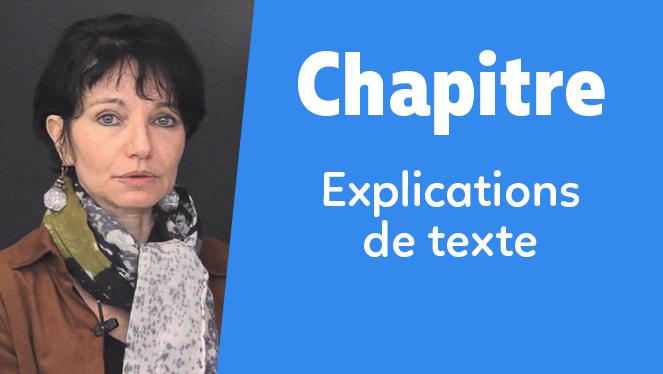Explications de texte