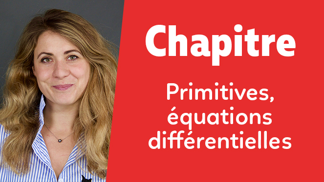 Primitives, équations différentielles