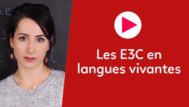 Les E3C en langues vivantes