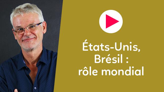 États-Unis, Brésil : rôle mondial
