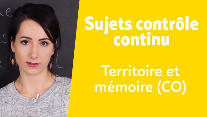 Territoire et mémoire (CO)