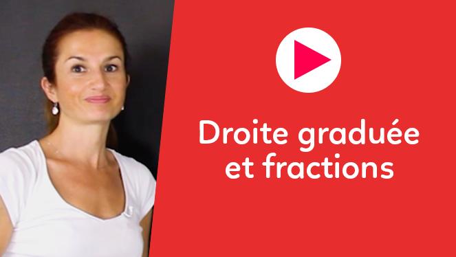 Droite graduée et fractions