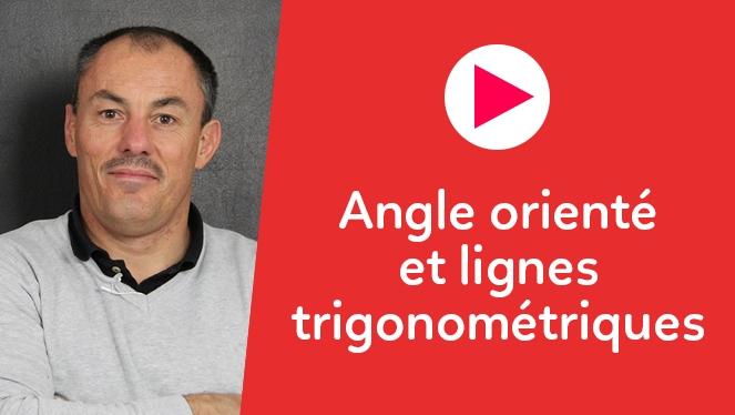Angle orienté et lignes trigonométriques