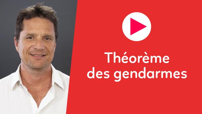 Théorème des gendarmes