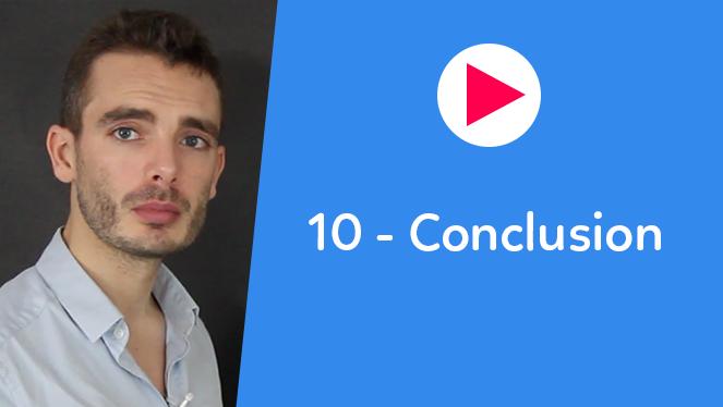 10 - Conclusion