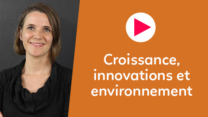 Croissance, innovations et environnement