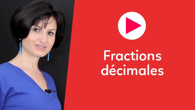 Fractions décimales