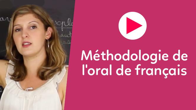 Méthodologie de l'oral de français