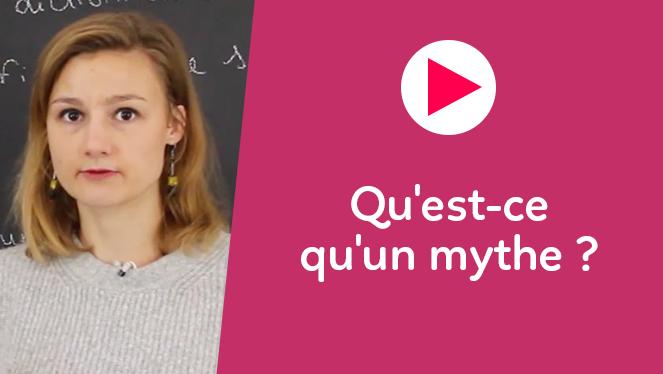 Qu'est-ce qu'un mythe ?