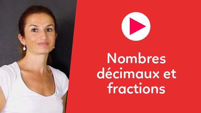 Nombres décimaux et fractions
