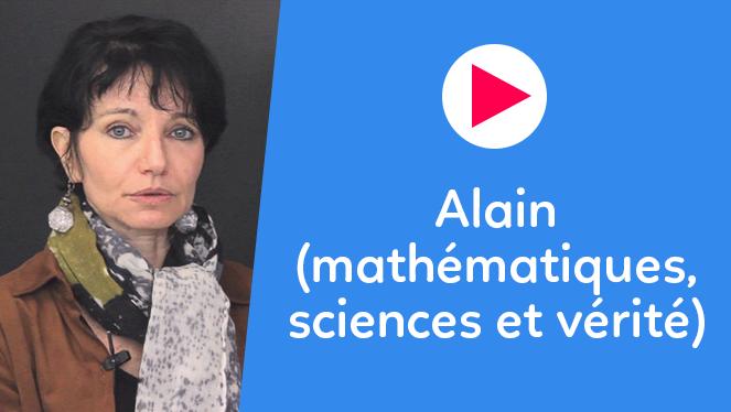 Alain (mathématiques, sciences et vérité)