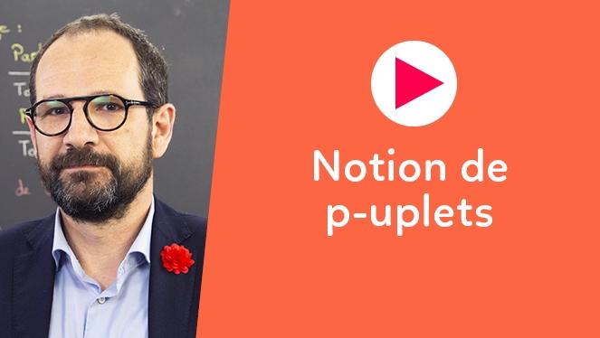 Notion de p-uplets