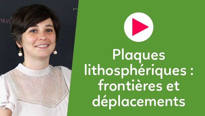 Plaques lithosphériques : frontières et déplacements