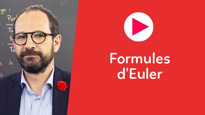 Formules d'Euler