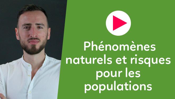 Phénomènes naturels et risques pour les populations