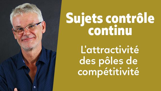 L'attractivité des pôles de compétitivité