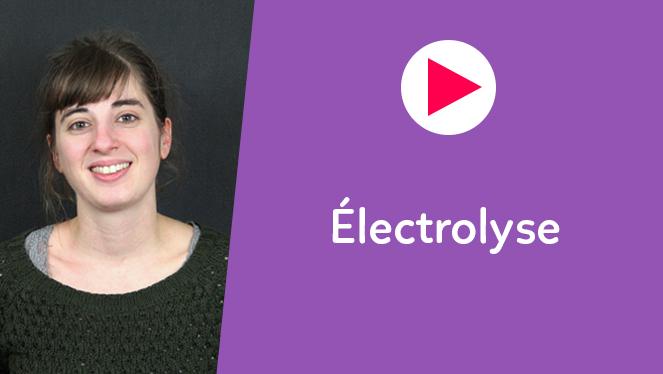 Électrolyse