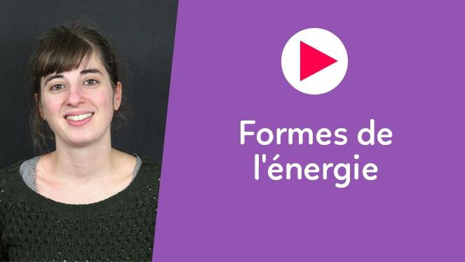 Formes de l'énergie