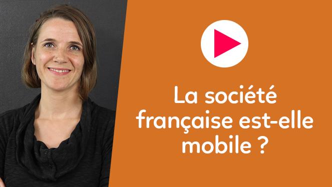 La société française est-elle mobile ?