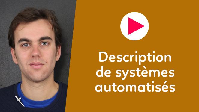 Description de systèmes automatisés