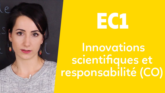 EC1 - Innovations scientifiques et responsabilité (CO)