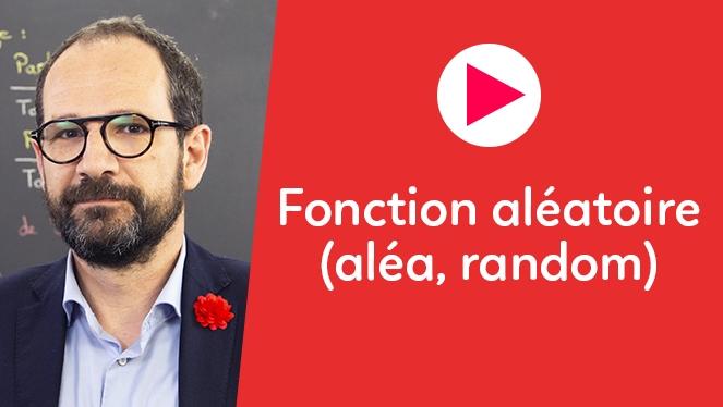 Fonction aléatoire (aléa, random)