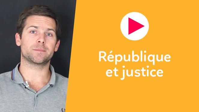 République et justice