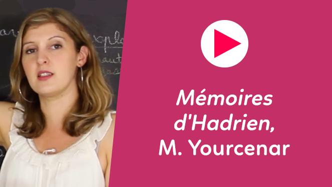 Mémoires d'Hadrien, Yourcenar