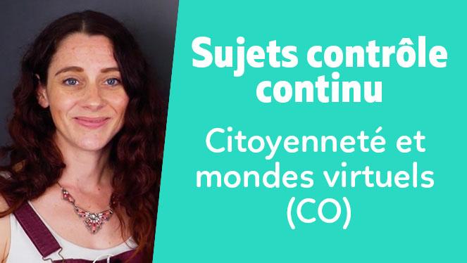 Citoyenneté et mondes virtuels (CO)