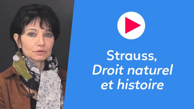 Strauss, Droit naturel et histoire