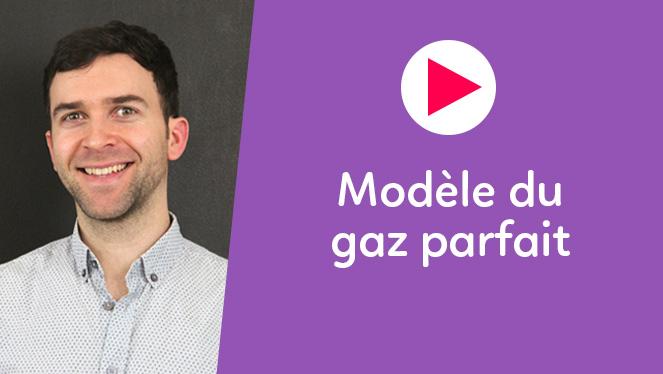 Modèle du gaz parfait