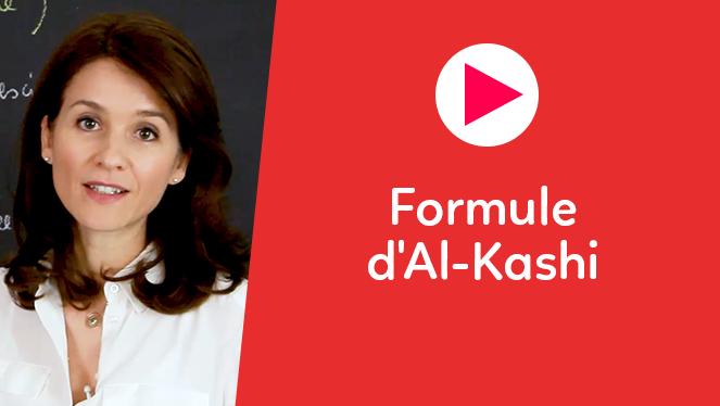 Formule d'Al-Kashi