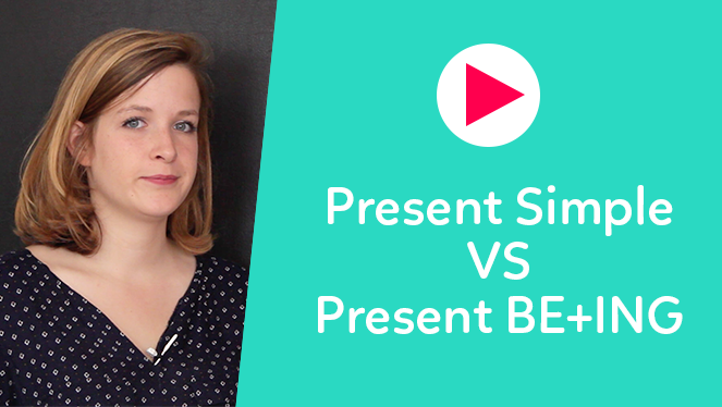 Present Simple VS Present BE ING