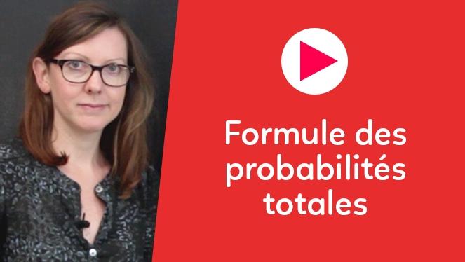 Formule des probabilités totales