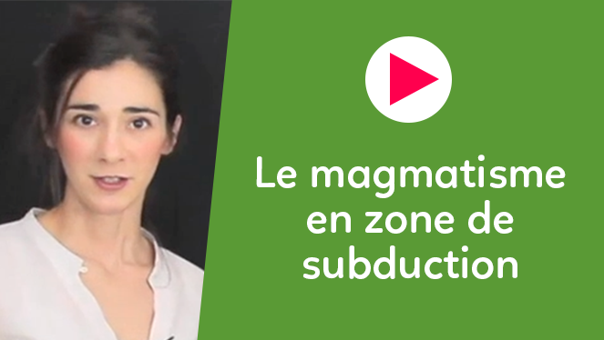 Le magmatisme en zone de subduction