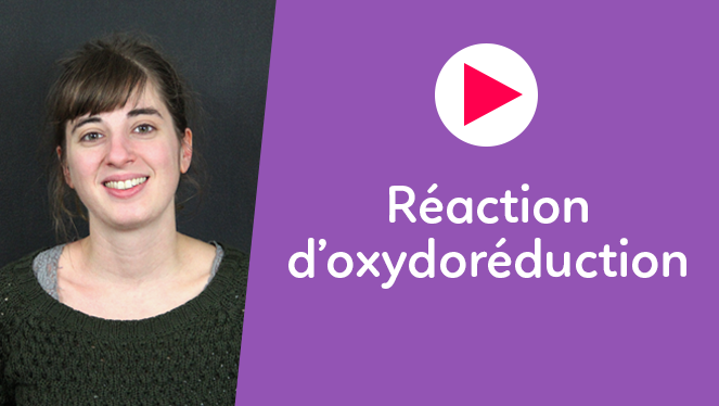 Réaction d'oxydoréduction