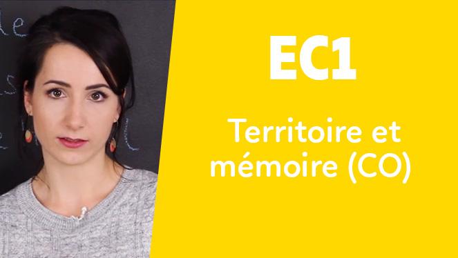 EC1 - Territoire et mémoire (CO)