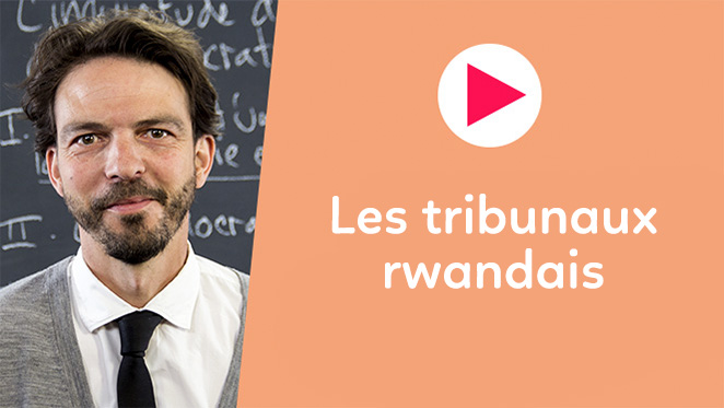 Les tribunaux rwandais