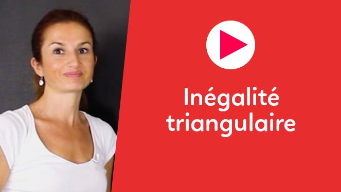 Inégalité triangulaire